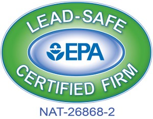U.S. EPA Lead-Safe Certified Firm Logo 1-inch